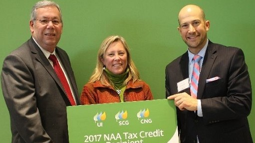 Thank you to Connecticut Natural Gas for granting us $5000 towards our 2017 Neighborhood Assistance Act energy conservation project.