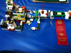 2nd place in the Children's Lego Contest